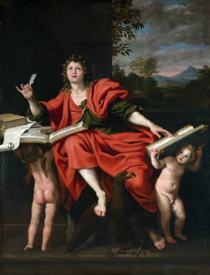 (1581-1641) Domenichino (Domenico Zampieri). John The Evangelist