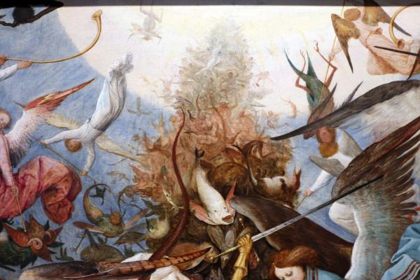 Питер Брейгель Старший. Падение мятежных ангелов. Фрагмент 15