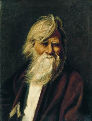 Василий Максимович Максимов. Портрет старика.