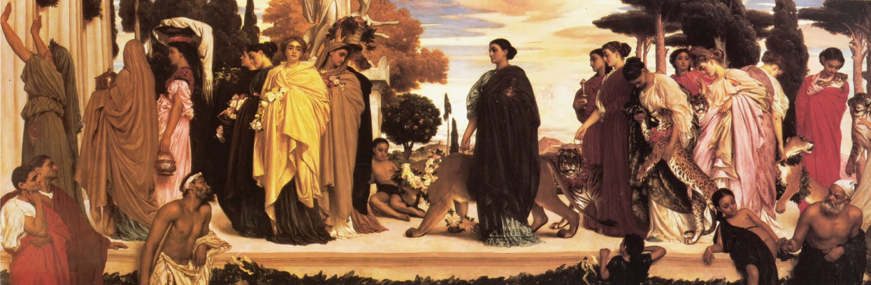 Frederic Leighton. Bride of syracuse