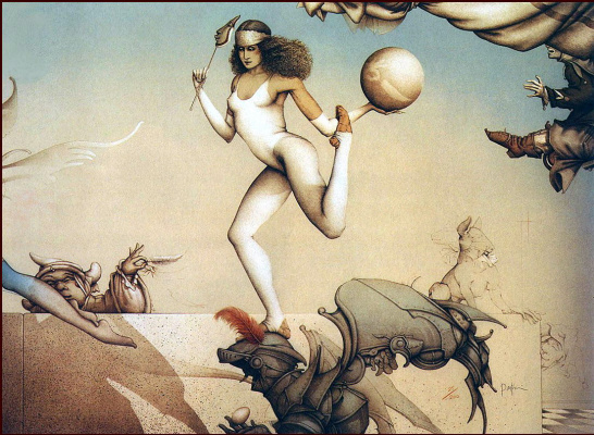 Michael Parkes. The last circus