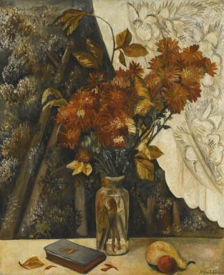 Natalia Goncharova. Autumn flowers