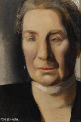 Tamara Lempicka. Female portrait