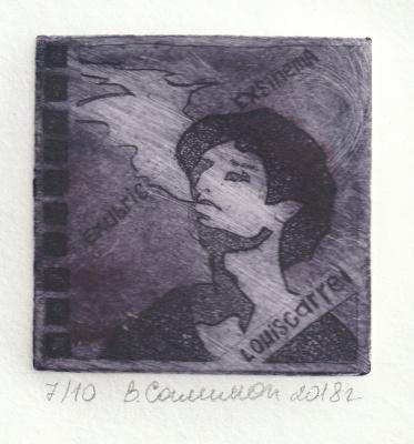 """Valeria Evgenievna Salimon. """"Ex libris Louis Garel"""""""