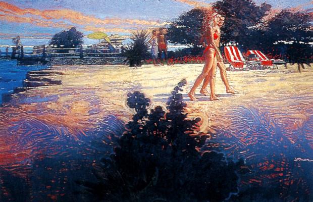 Джеффри Терресон. Пляж