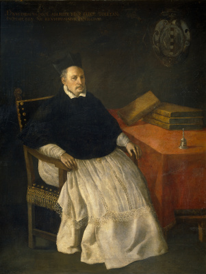 Francisco de Zurbaran. Prayer Of St. Francis