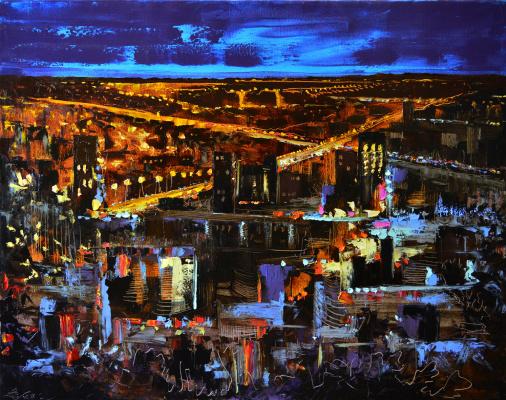 Vadim Anatolyevich Stolyarov. Night city