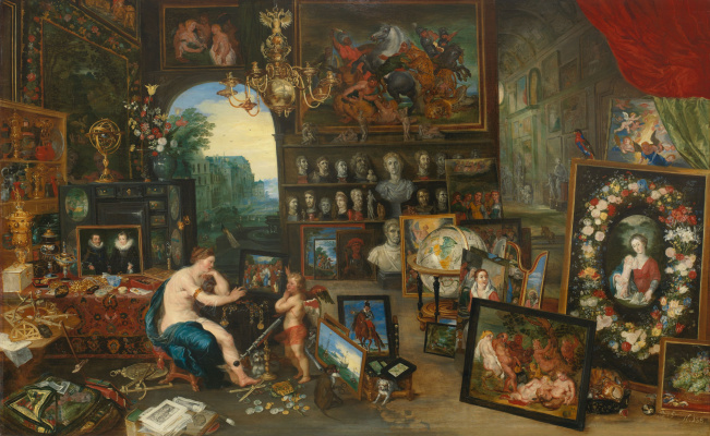 Jan Brueghel the Younger. The five senses: sight