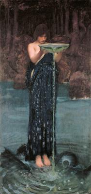 John William Waterhouse. CIRCE
