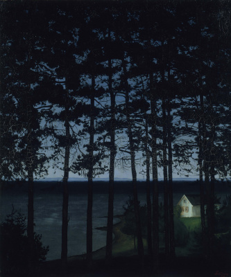 Harald Oscar Solberg. Fisherman's Cottage