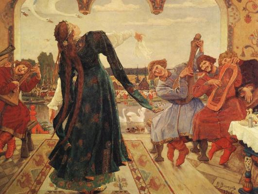 Victor Mikhailovich Vasnetsov. The frog Princess