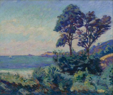 Арман Гийомен. Морской пейзаж в Сен-Пале