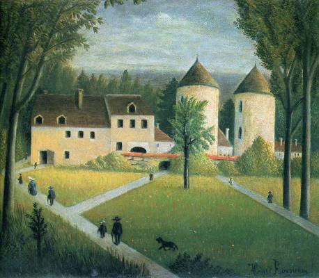 Henri Rousseau. Promenade