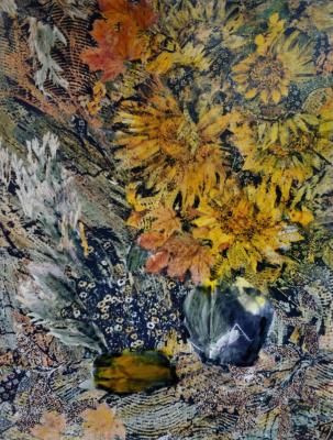 Natalia Nikolaevna Guller. Sunflowers