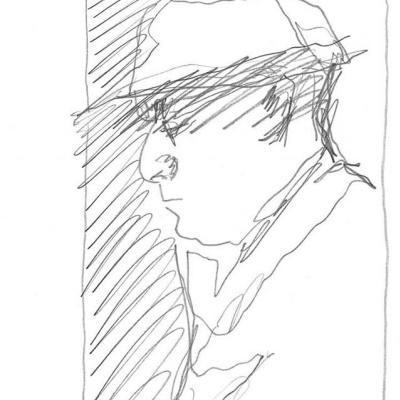 "Gerhard Richter. Self-portrait 3 (Series ""100 self-portraits"")"