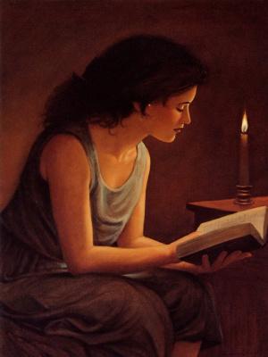 Эммануэль Гарант. Чтение при свече