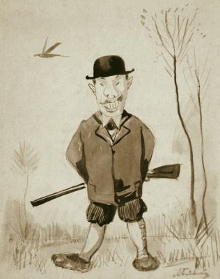 Alexey Petrovich Bogolyubov. Hunter