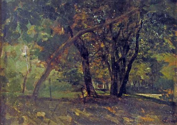 Серафино де Тиволи. Пейзаж