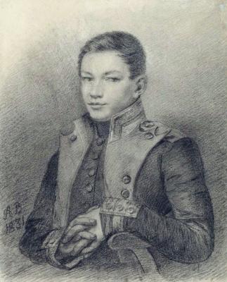 Alexander Grigorievich Varnek. Portrait of R. A. Tomilov. National Art Museum of the Republic of Belarus, Minsk