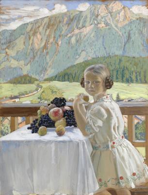 Boris Mikhailovich Kustodiev. Irina Kustodiyeva