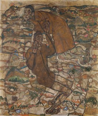 Egon Schiele. Levitation (The Blind II)