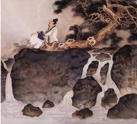 Пэн Лиан Сюй. Китайский мужчина