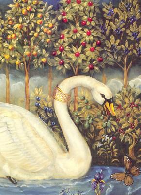 Памела Силин-Палмер. Белый лебедь