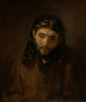 Rembrandt Harmenszoon van Rijn. Head of Christ