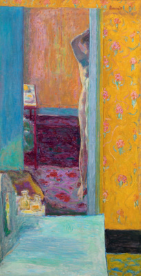 Pierre Bonnard. Nude in the interior
