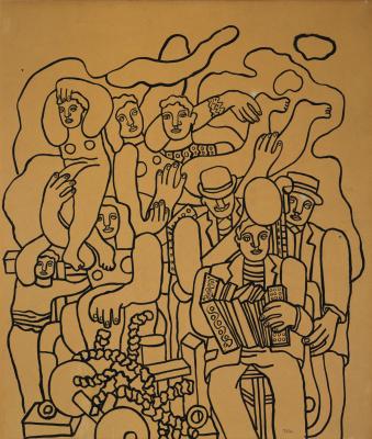 Fernand Leger. Circus family