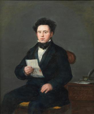 Франсиско Гойя. Хуан Мартин-де-Гойкоэчеа