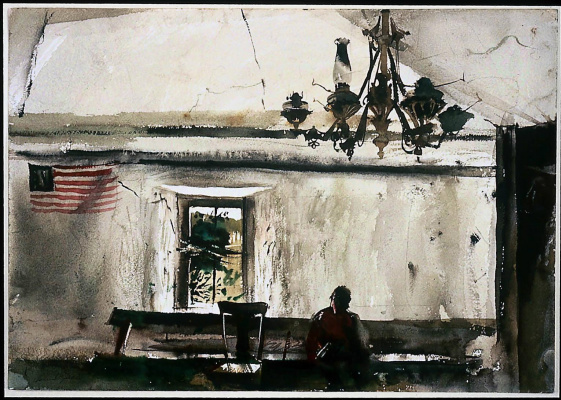 Andrew Wyeth. Day of remembrance