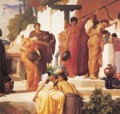 Frederic Leighton. Captive Andromache (fragment)