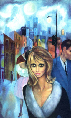 Маргарет Кин. Девушка на улице