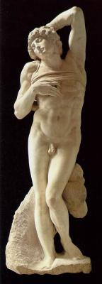 Michelangelo Buonarroti. The dying slave