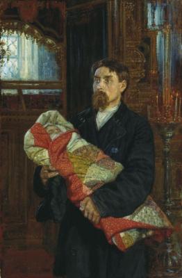 Константин Аполлонович Савицкий. Отец