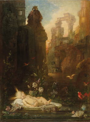 Gustave Moreau. Baby moses