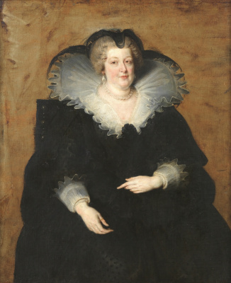 Peter Paul Rubens. Portrait of Maria de Medici, Queen of France
