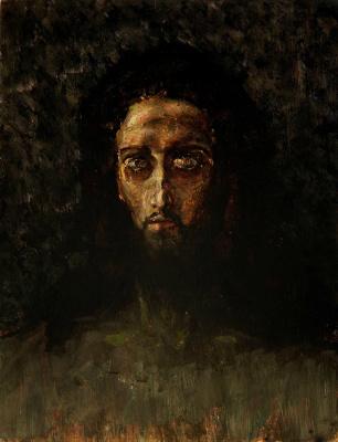 Михаил Александрович Врубель. Голова Христа