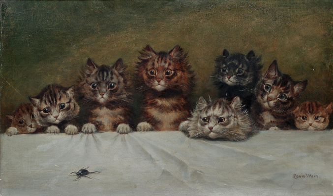 Louis Wain. In all eyes!