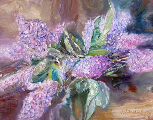 Alexander Ivanovich Vlasyuk. Lilac