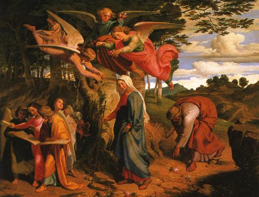 Йозеф фон Фюрих. Религиозный сюжет 2
