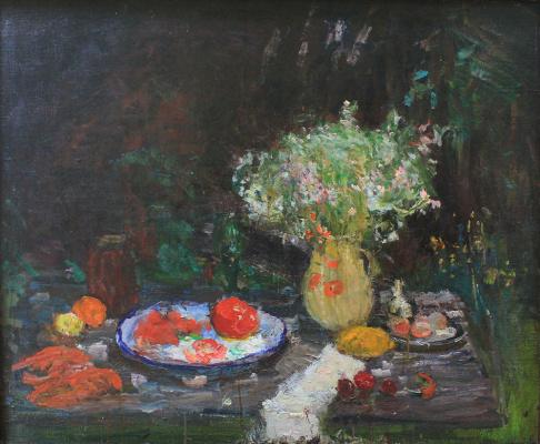 Виктор Семенович Сорокин. Still life with tomato