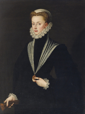 Sofonisba Anguissola. Portrait of Archduchess Giovanna of Austria