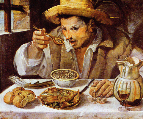 Annibale Carracci. Lunch