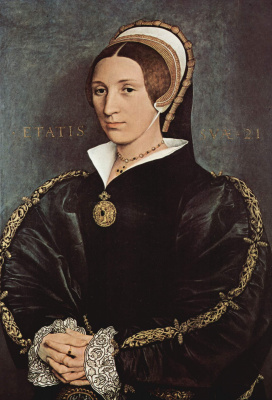 Hans Holbein The Younger. Portrait of Catherine Howard, fifth wife of King Henry VIII