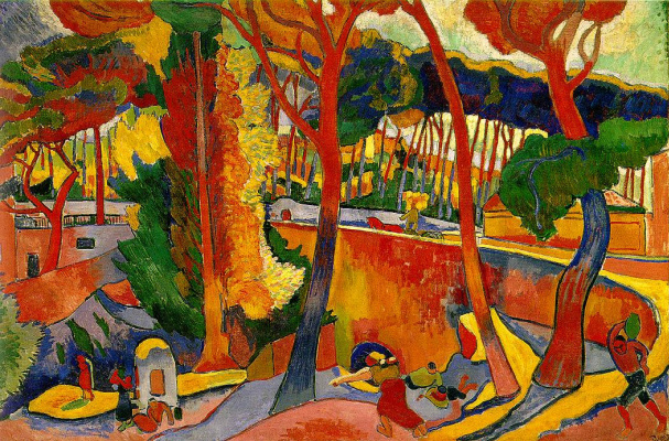 Andre Derain. Crossing the road