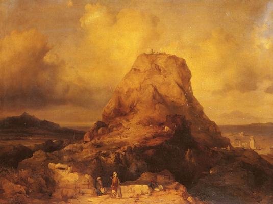 Иаков Джейкобс. Пейзаж на Родосе