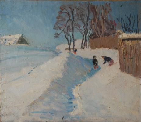 Виктор Семенович Сорокин. Freezing day