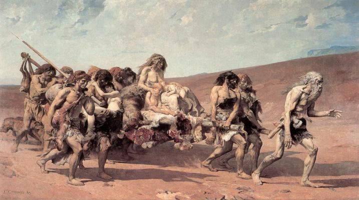 Фернан Кормон. Шествие